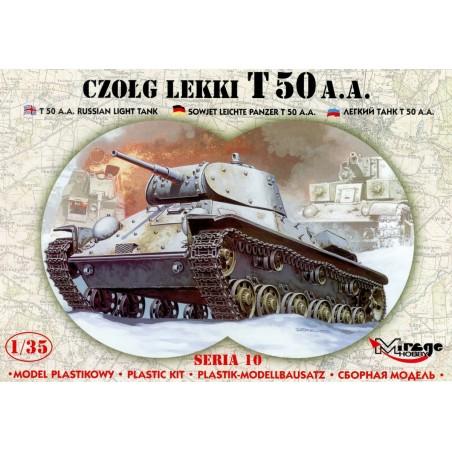 Maqueta Tanque T-50 A.A. Russian Light Tank 1/35