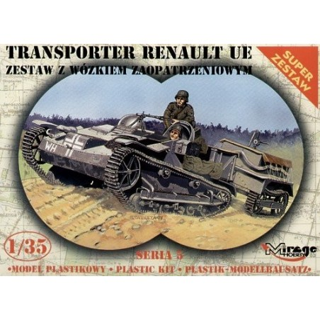 Maqueta Tanque Renault UE Transport Vehicle 1/35