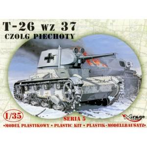 Maqueta Tanque T-26 wz. 37 Russian L. Tank 1/35