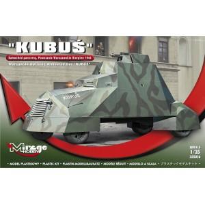 Maqueta Tanque Kubús Warsaw 44 Armoured Car 1/35