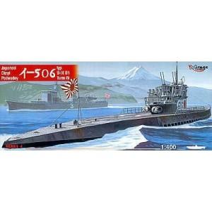 Maqueta Submarino I-506 (U-IX DI) Japanese Sub. 1/400