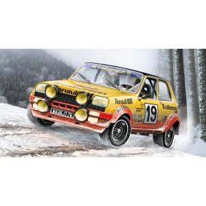 Maqueta Renault R5 Alpine 1:24