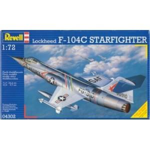Maqueta Avión Lockheed F-104C Starfighter