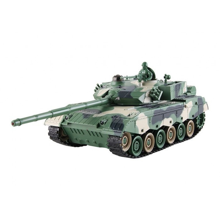 Tanque Batalla IR Interactiva ZTZ96  1:28