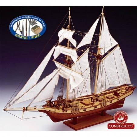 Barco Albatros Atlantis Initio 1:55 en Kit