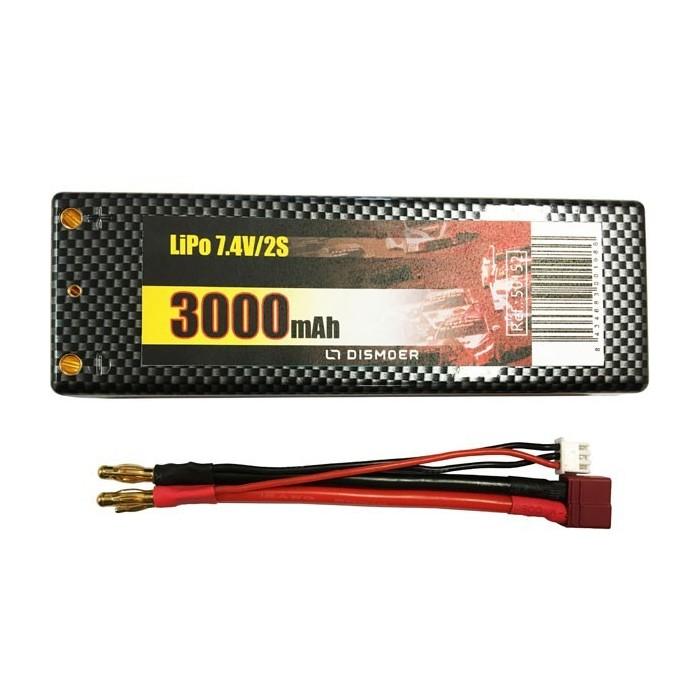 Batería Li-Po 2S 7.4V 3000mAh T-Dean