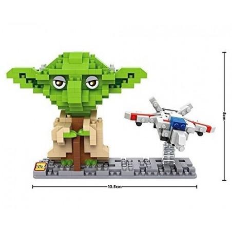 LOZ Figura Yoda + Nave 390 piezas