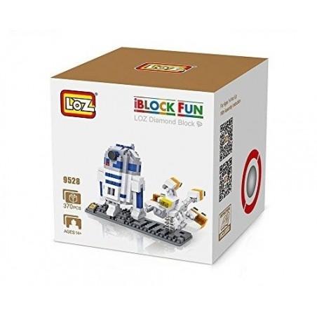 LOZ R2D2 + Nave 370 piezas