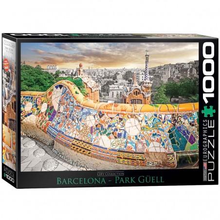 Puzzle 1000 Parque Güell, Barcelona
