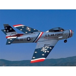 Avion Sabre F-86F Ducted Fan - OS MAX 15CV-DF